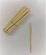 "5 1/2"" Wooden Apple Stick- 1000/Case"
