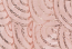 90X90 Blush (Rose Gold) Mermaid Scales Sequin Topper Rental