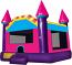 Pink & Purple Dream Castle Rental