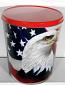6.5 Gal Proud to Be An American Popcorn Tin