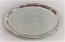 Oval Silver Ornate Serving Platter Rental
