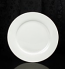 "White Round 10.5"" Dinner Plate Rental (20/Rack)"