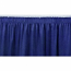 10' Blue Stage Skirting Rental