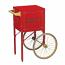 Red Cart for Fun Pop 8oz. Popper