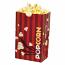 Laminated Popcorn Bag, 32oz. Red- 1000/Case