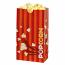 Laminated Popcorn Bag, 46oz. Orange- 1000/Case