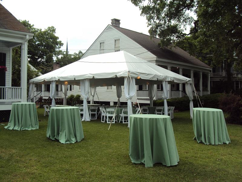20 x 30 Frame Tent & Mobile Popcorn and Party Rentals