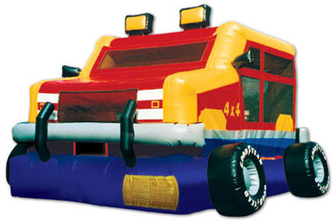 Monster Wheels Jumper Rental