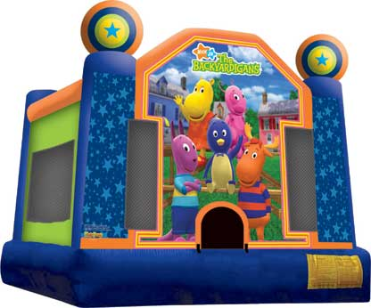 Backyardigans Jumper Rental