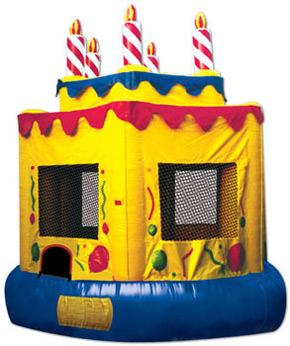 Birthday Cake Jumper Rental