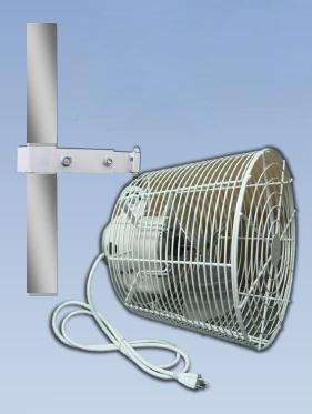 White Hanging Tent Fan Rental