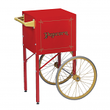 Red Cart for Fun Pop 8oz. Popper