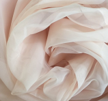 14' Blush Sheer Drape Rental