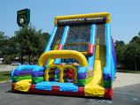 22 Ft Vertical Rush Slide Rental