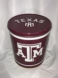 3.5 Gal Texas A&M Popcorn Tin
