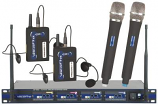 Wireless Microphone Rental (Set of 4)