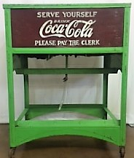 Antique Coca Cola Cooler Stand Rental