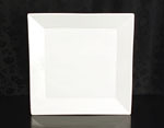 "White Square Dinner Plate 10.75"" Rental (20/Rack)"