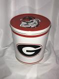 3.5 Gal Georgia Bulldogs Popcorn Tin