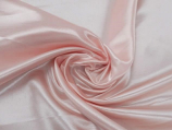 "132"" Rose Powder Bridal Satin Linen Rental"