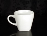 White Square Coffee Cup Rental (20/Rack)