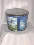 2 Gal Lighthouse Popcorn Tin