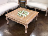 Antiqued Coffee Table Rental