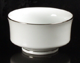 Platinum Rim Bowl Rental
