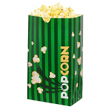 Laminated Popcorn Bag, 130oz. Green- 500/Case