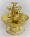 5 Gallon Gold Matte Punch Fountain Rental